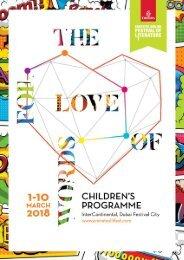 #DubaiLitFest Digital  Children's Programme 2018