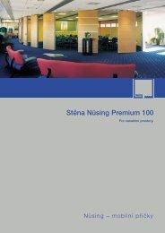 Stěna Nüsing Premium 100 - Mobilní příčky