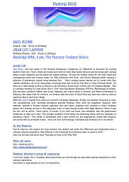Jean-Luc Larvoir and Paul Flynn - Storytelling Southeast