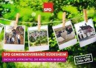 SPD Wahlprogramm 2018-2024 für die VG Rüdesheim