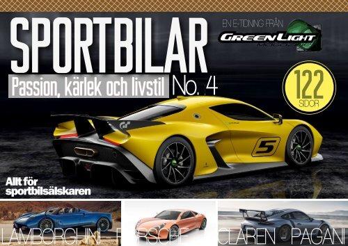 Sportbilar #4