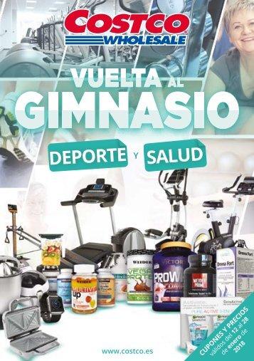 COSTCO Ofertas, Vuelta Al Gimnasio hasta 28 de Enero 2018
