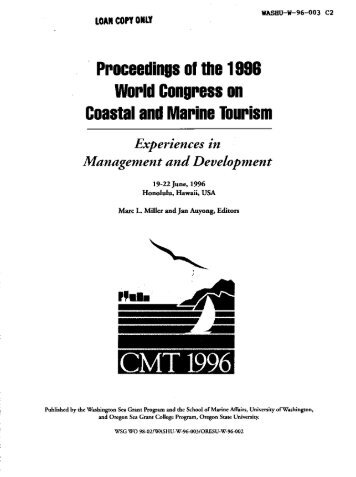 Cover, Contents, Preface, Acknowledgements - the National Sea ...