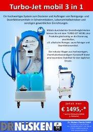 Turbo-Jet mobil 3 in 1 - Dr. Nüsken Chemie GmbH