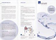 WINTER. SEM INAR - Dr. Nüsken Chemie GmbH
