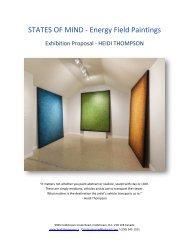 MIND STATES - ENERGY FIELD PAINTINGS