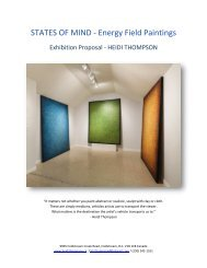 MIND STATES - ENERGY FIELD PAINTINGS