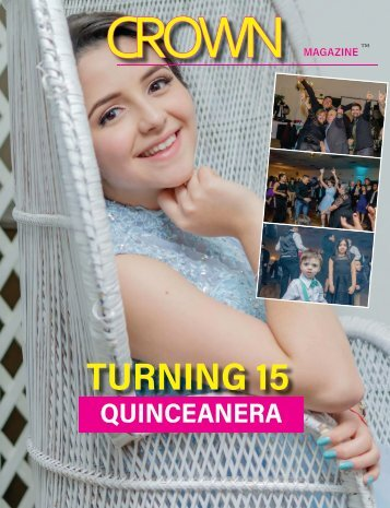 Quinceanera Custom Magazine by Keith Rogers Event photography