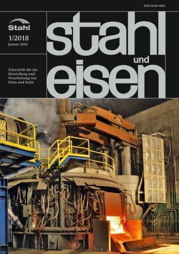 Leseprobe stahl und eisen 01/2018