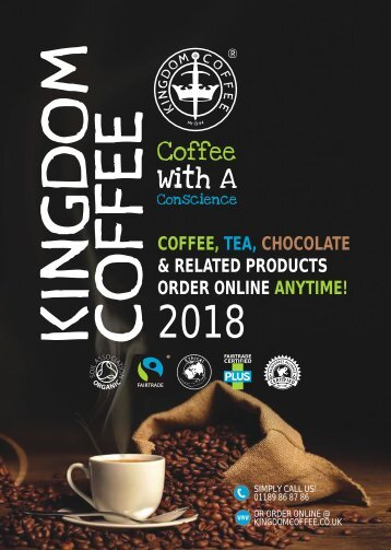 Kingdom Coffee Product Catalogue 2018