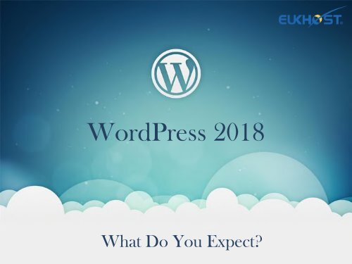 WordPress 2018