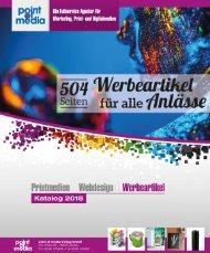 Werbeartikel-Katalog 2018 - point of media Verlag