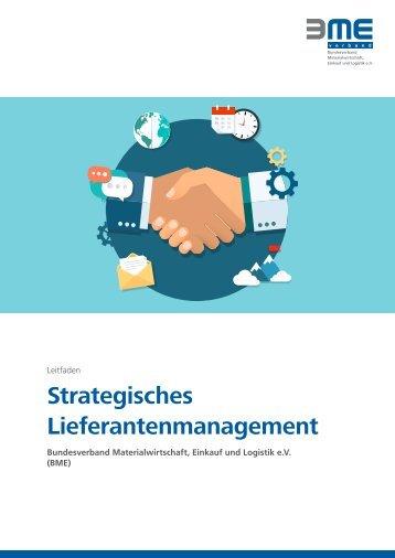 Strategisches Lieferantenmanagement