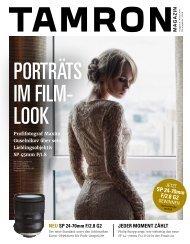 Tamron Magazin Ausgabe 5 Herbst 2017