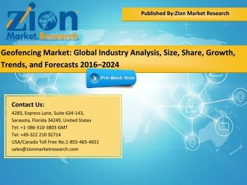 Global Geofencing Market, 2016 – 2024