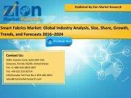 Global Smart Fabrics Market, 2016 – 2024