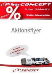 Aktionsflyer P-Messe-concept