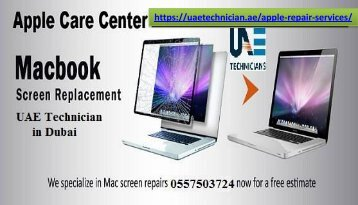 +971-557503724 for Apple Repair Services in Dubai