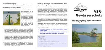 Flyer-Baggersee