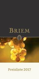 Preisliste 2017 – Weingut Briem