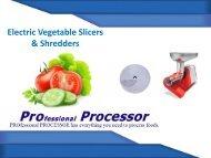 Quality Vegetable Shredder Machine - Home & Commercial