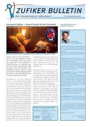 2006 Nr. 18 Bulletin November - Zufikon