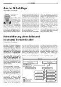 Konsolidierung ohne Stillstand in unserer Schule für alle! - Seite 3