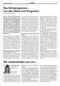 Konsolidierung ohne Stillstand in unserer Schule für alle! - Seite 5