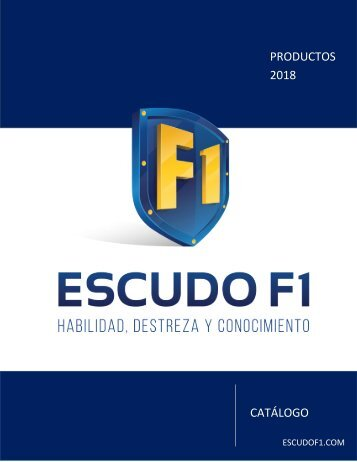 CATALOGO PRODUCTOS 2018