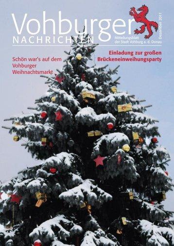 Vohburger Nachrichten - Stadt Vohburg