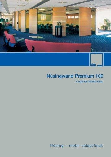 Nüsingwand Premium 100 - Mobilwand Kft