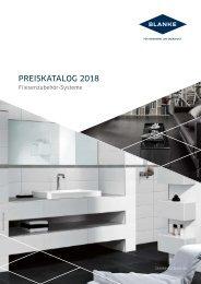BLANKE Produktkatalog 2018