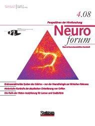 Endocannabinoides System des Gehirns – von der Neurobiologie zur ...