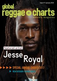Global Reggae Charts - Issue #9 / January 2018