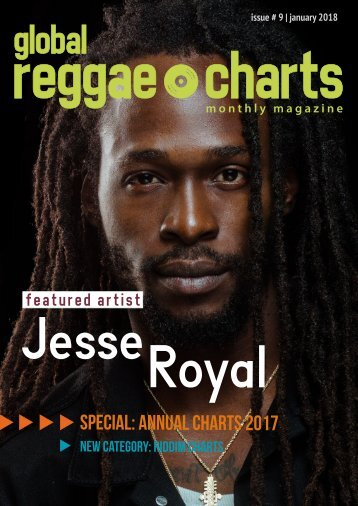 Global Reggae Charts - Issue #9 / January 2018