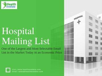 Hospital Mailing List