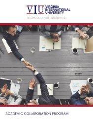 VIU Academic Collaboration Brochure