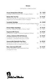 Rotweine 5dl Flaschen im Offenausschank Huuswy Montepulciano ...