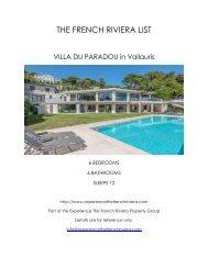 Villa du Paradou - Vallauris