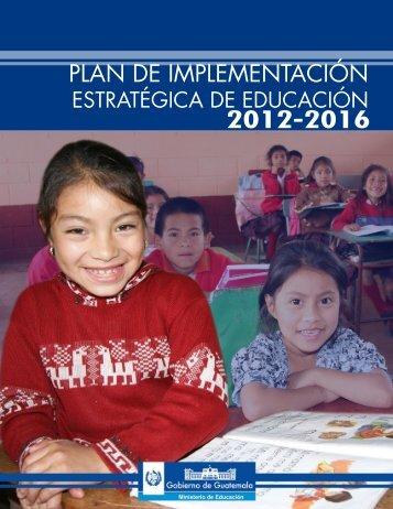 DIPLAN_Plan_de_Implementacion_Estrategica_de_Educacion_2012-2016