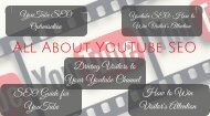 All About Youtube SEO