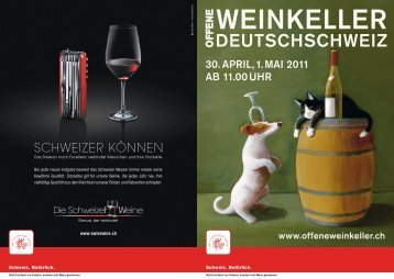 CH - Offene Weinkeller