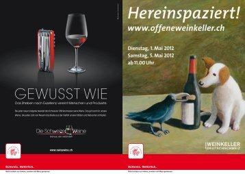 Hereinspaziert! - Offene Weinkeller