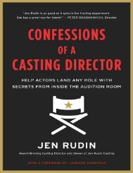 Confessions of a Casting Direct - Jen Rudin