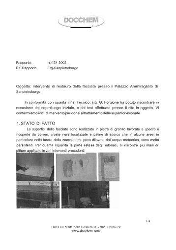 Intervento Palazzo Ammiragliato итал