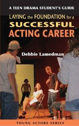 A Teen Drama Students Guide to Laying the Foundation for a Succe