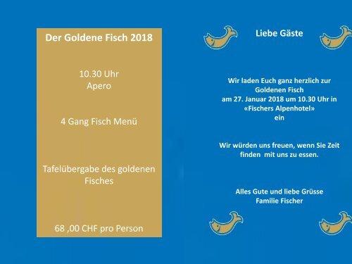 Goldener Fisch Einladung