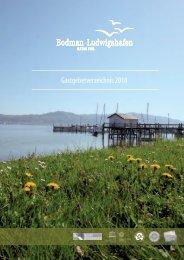 Gastgeberverzeichnis Bodman-Ludwigshafen 2018