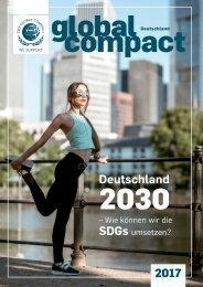 Deutschland 2030 – Wie können wir die SDGs umsetzen?