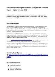 Cloud Electronic Design Automation (EDA) Market